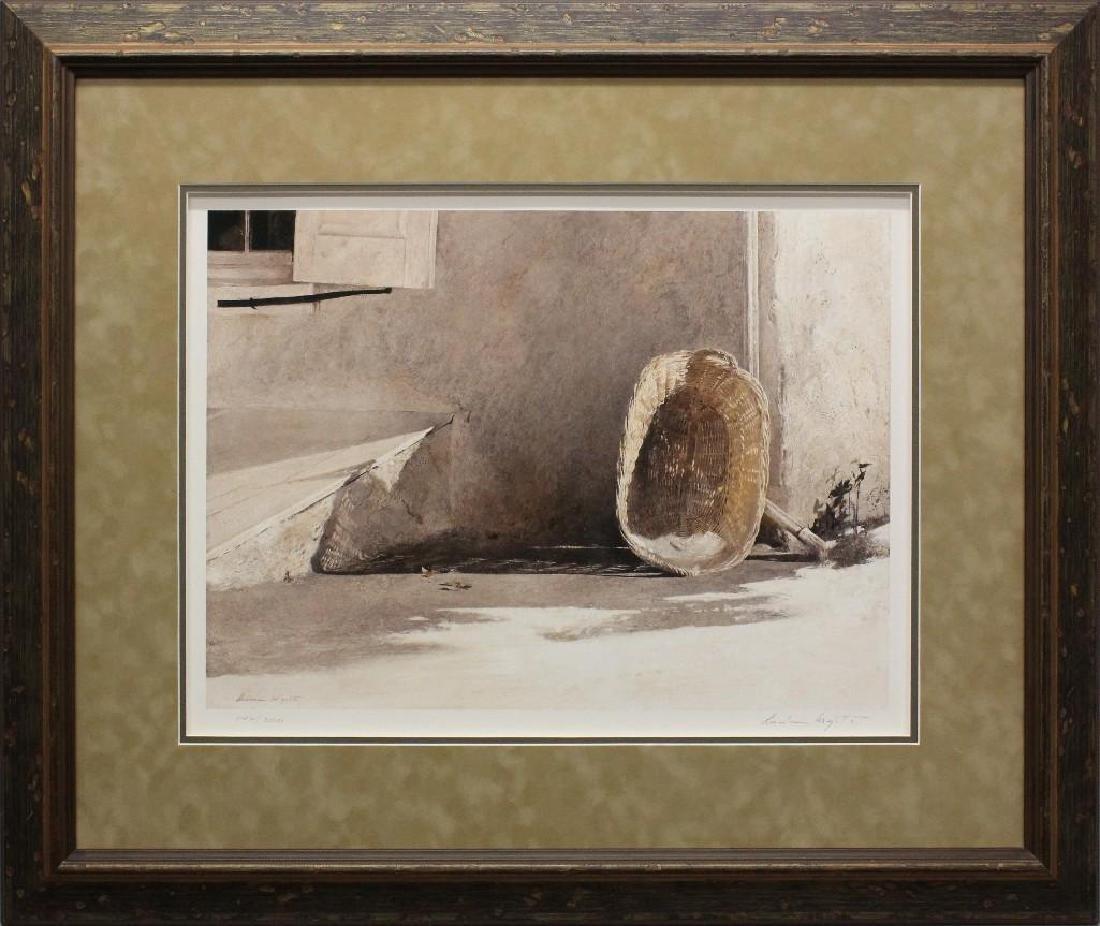 """Andrew Wyeth (1917-2009, Pennsylvania, Maine) """"Monday"""