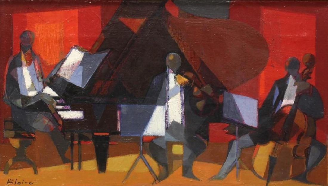 "Camille Hilaire (1916-2004, France, Germany) ""Le Trio"" - 2"