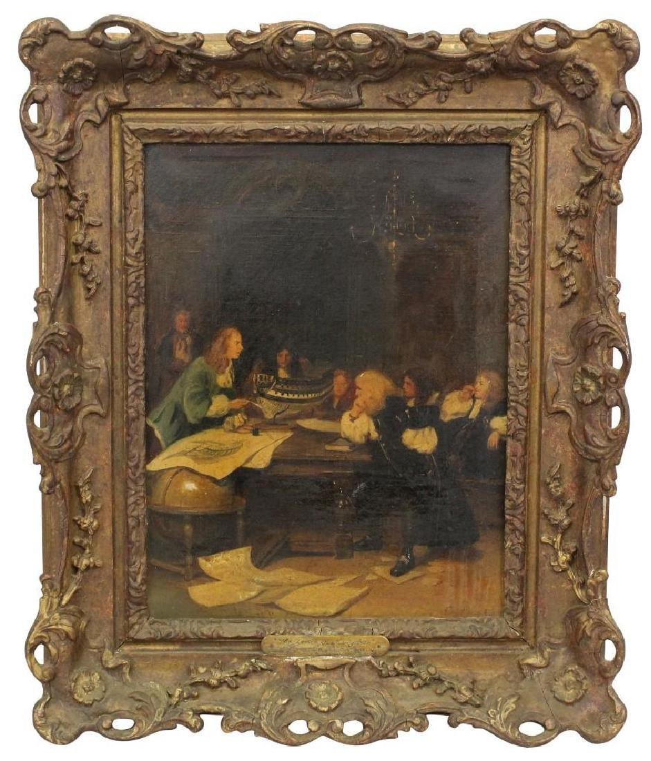 "Seymour Lucas (1849-1923, United Kingdom) ""The Lesson"