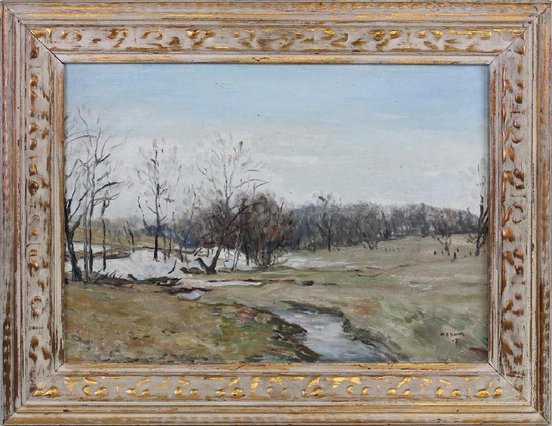 "Walter Emerson Baum (1884-1956, Pennsylvania) ""Brook - 2"