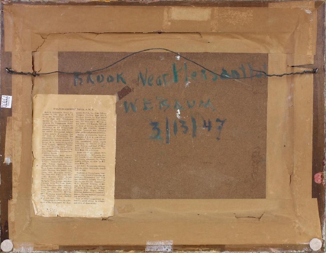 "Walter Emerson Baum (1884-1956, Pennsylvania) ""Brook - 4"