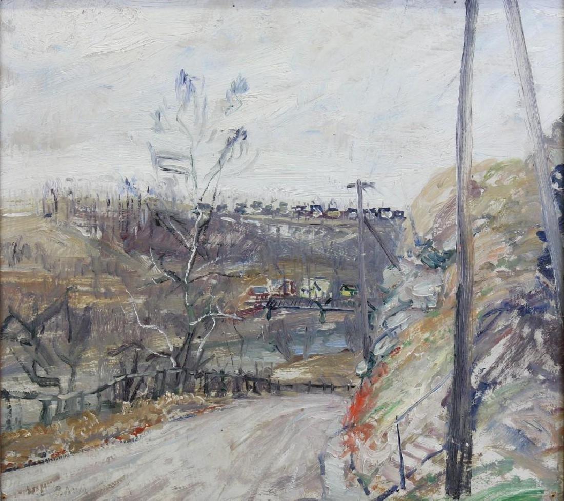 Walter Emerson Baum (1884-1956, Pennsylvania) River - 2