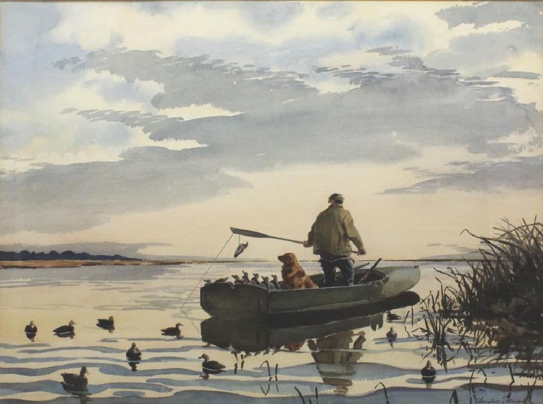 Churchill Ettinger (1903-1984, Vermont, New Jersey) - 2