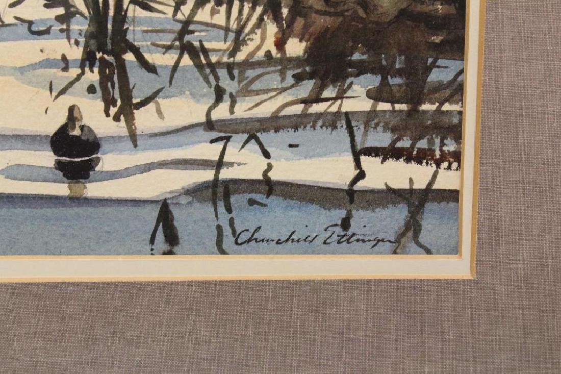 Churchill Ettinger (1903-1984, Vermont, New Jersey) - 3