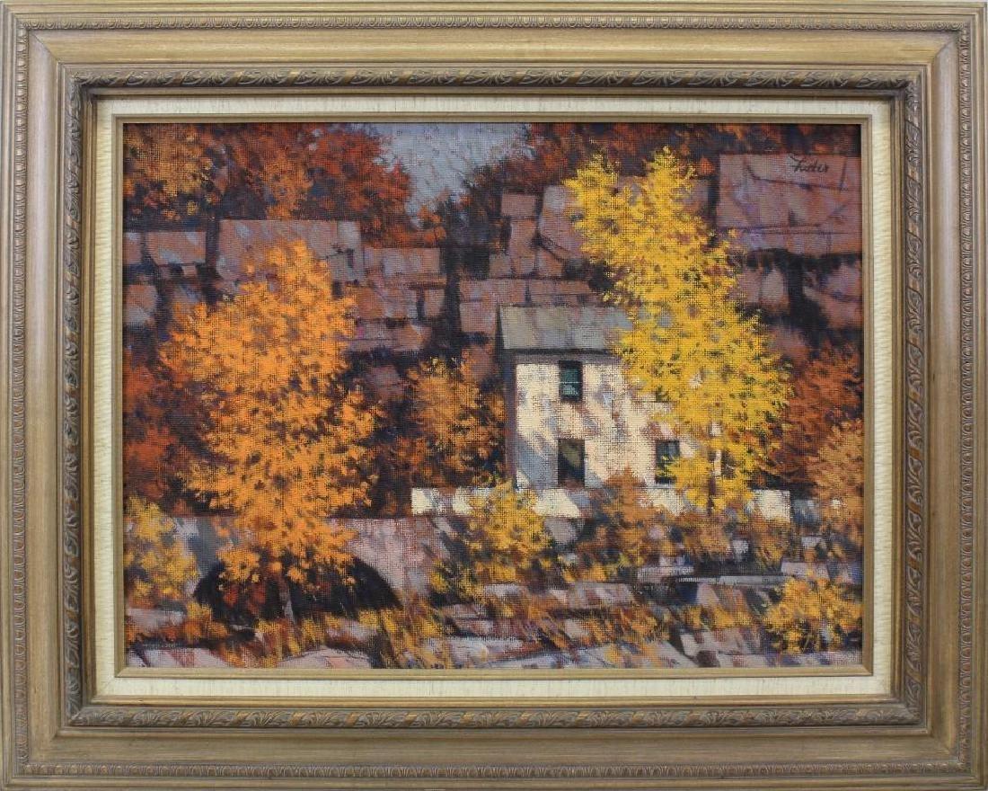 R John Foster (1908-1989, Pennsylvania) Fall Quarry
