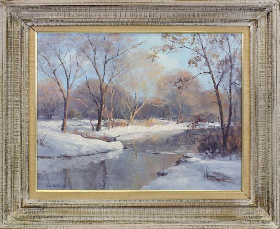 John E Berninger (1897-1981, Pennsylvania) Near Wehr