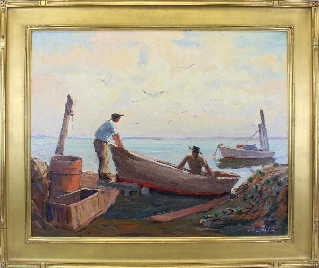 Melville Stark (1903-1987, Pennsylvania) Longport Key