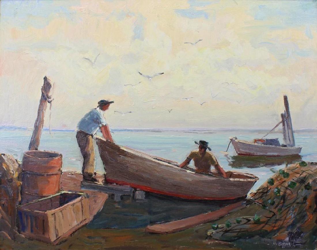 Melville Stark (1903-1987, Pennsylvania) Longport Key - 2