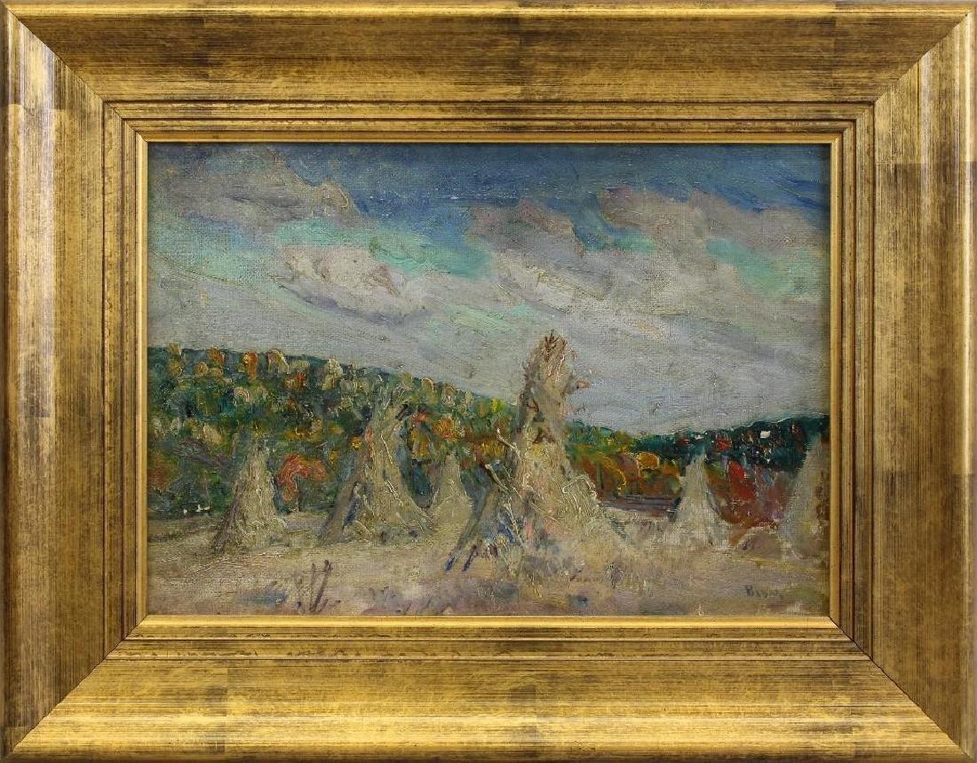 "Walter Emerson Baum (1884-1956, Pennsylvania) ""Autumn"""