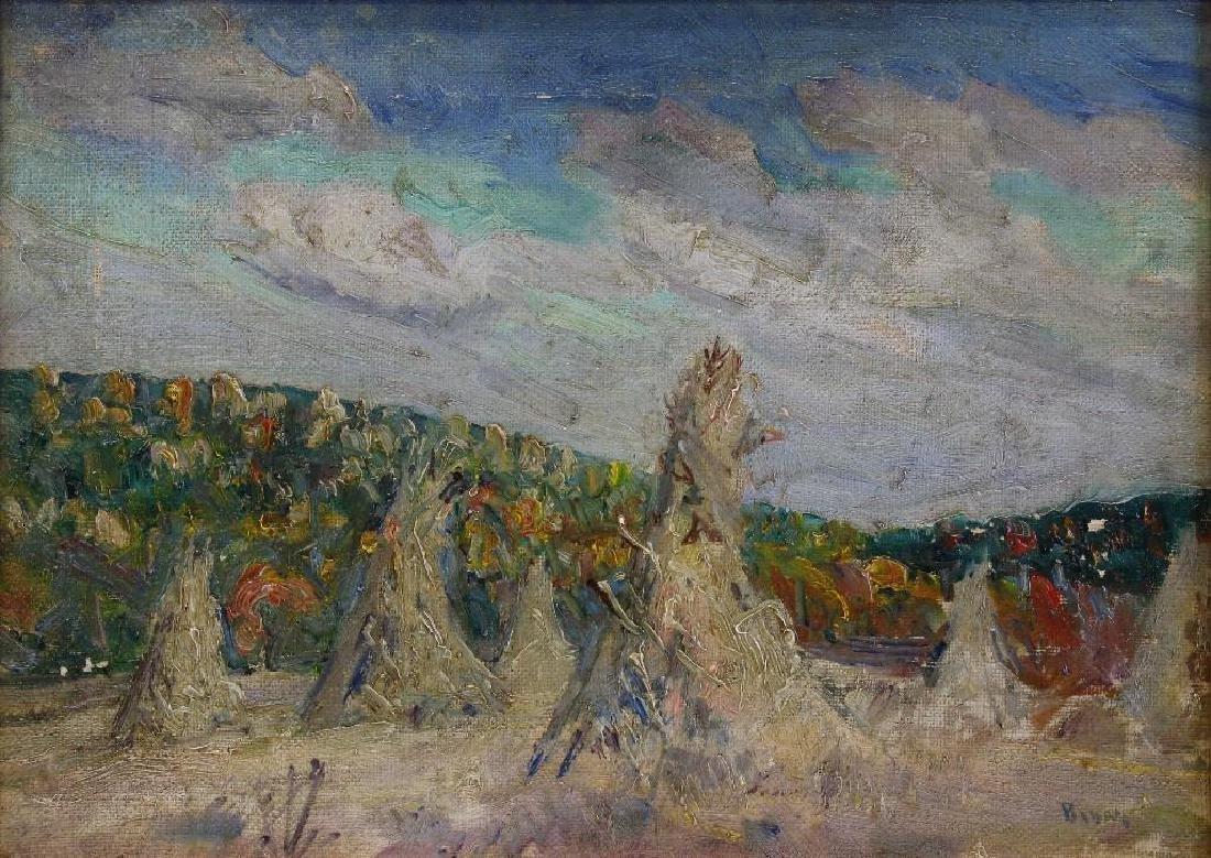 "Walter Emerson Baum (1884-1956, Pennsylvania) ""Autumn"" - 2"