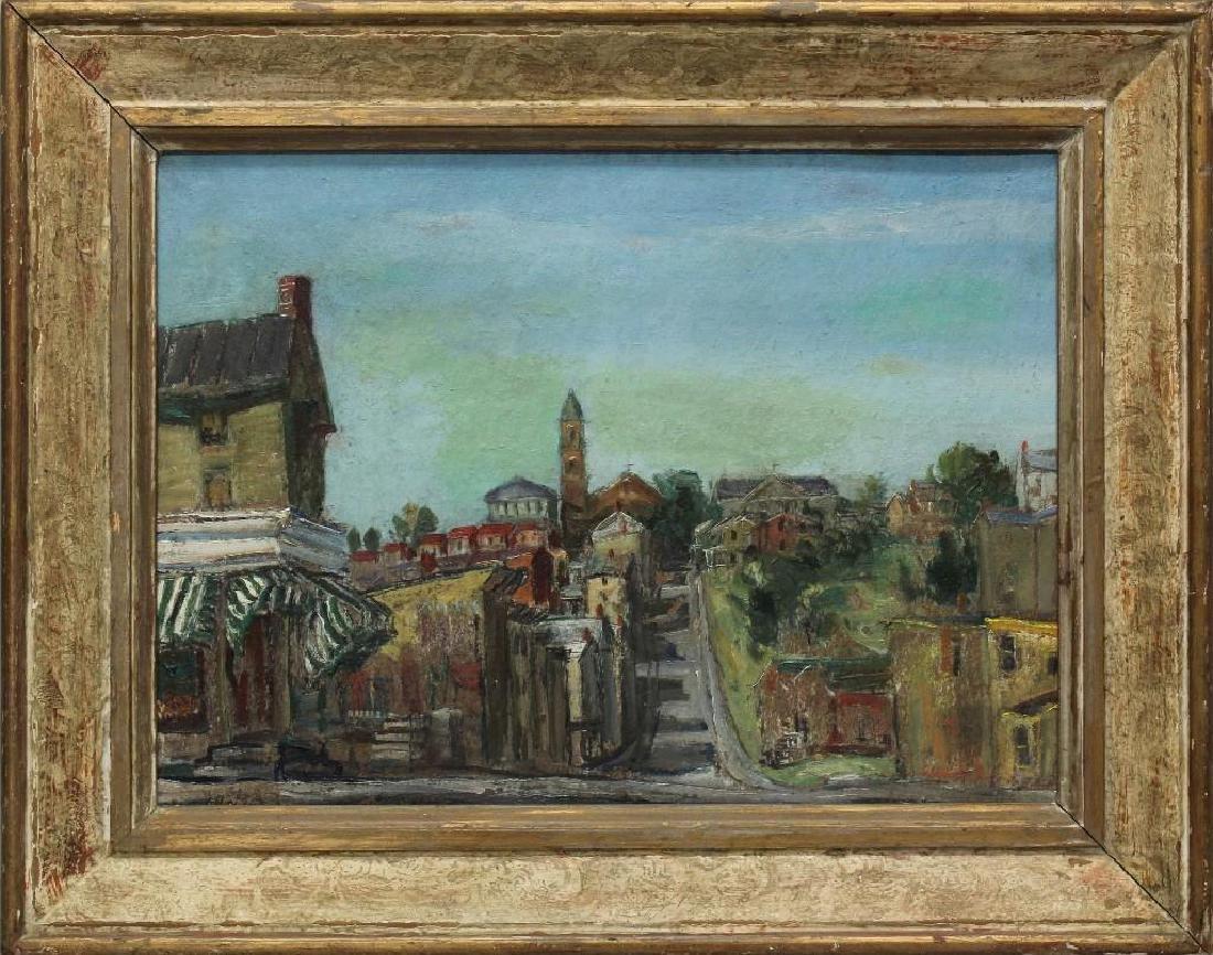 "Walter Emerson Baum (1884-1956, Pennsylvania) ""Manayunk"