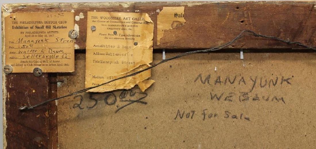 "Walter Emerson Baum (1884-1956, Pennsylvania) ""Manayunk - 4"