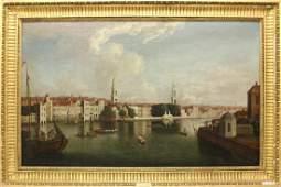 "Samuel Scott (1702-1772, United Kingdom) ""View on the"
