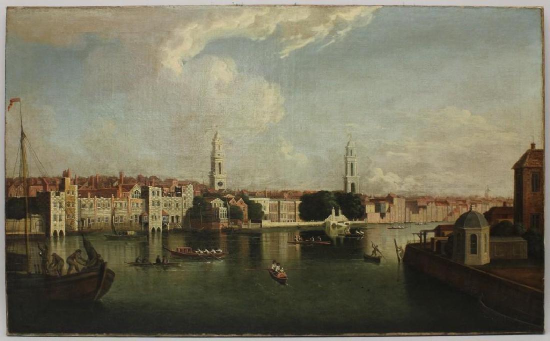 "Samuel Scott (1702-1772, United Kingdom) ""View on the - 2"
