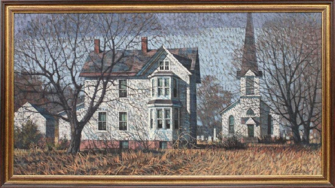 R John Foster (1908-1989, Pennsylvania) Victorian