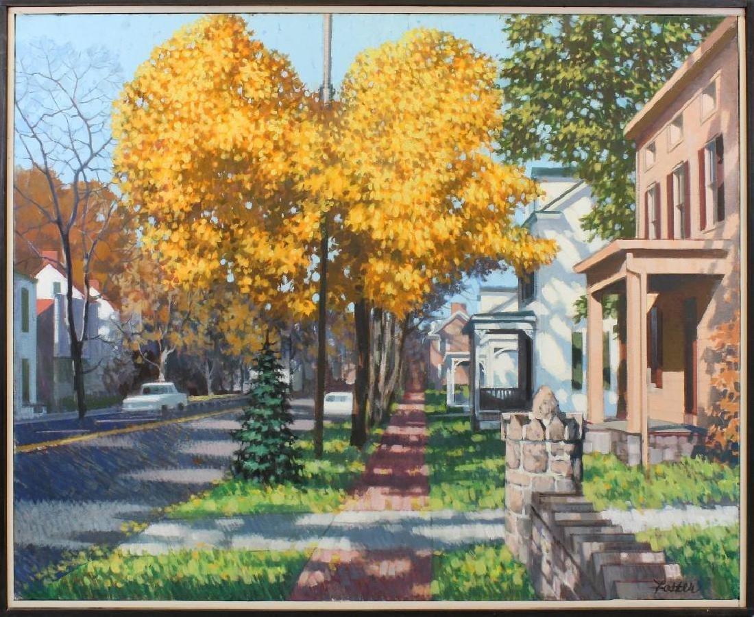 R John Foster (1908-1989, Pennsylvania) Village,