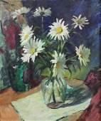 Irma Stern (1894-1966, South Africa, Europe) Dasies