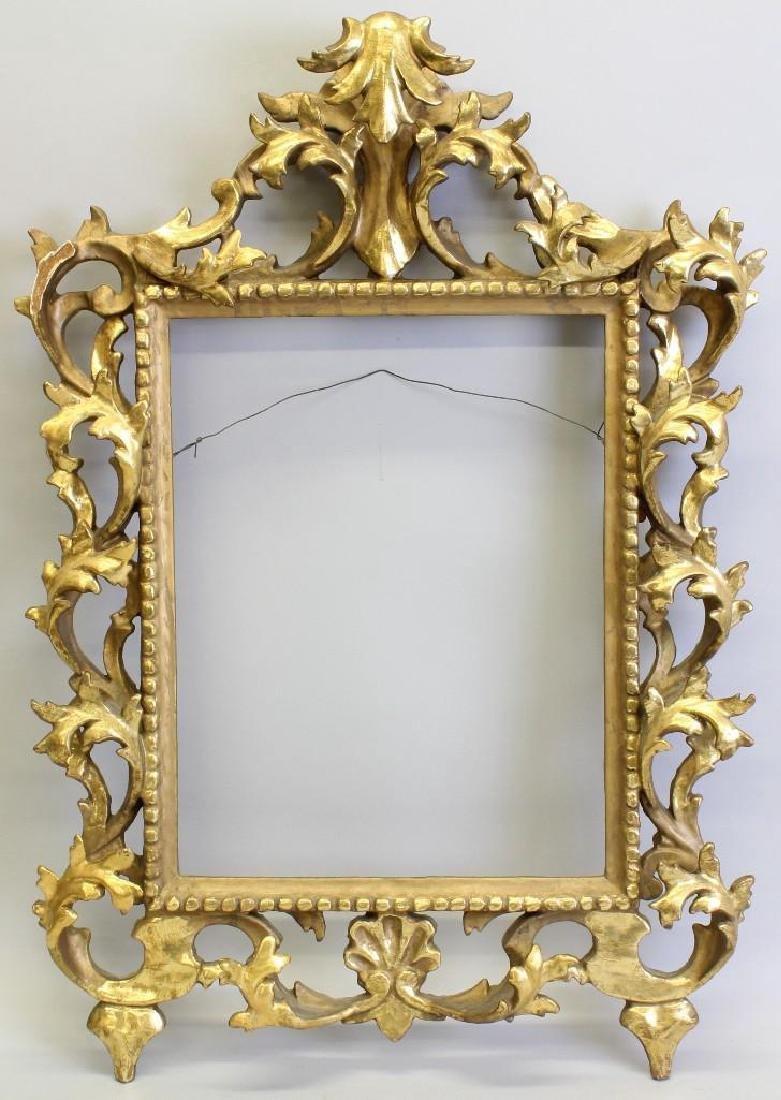 Carved, Gilded Frame