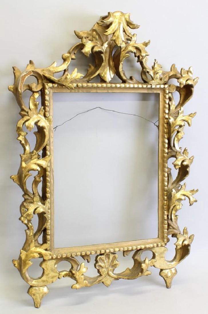 Carved, Gilded Frame - 2