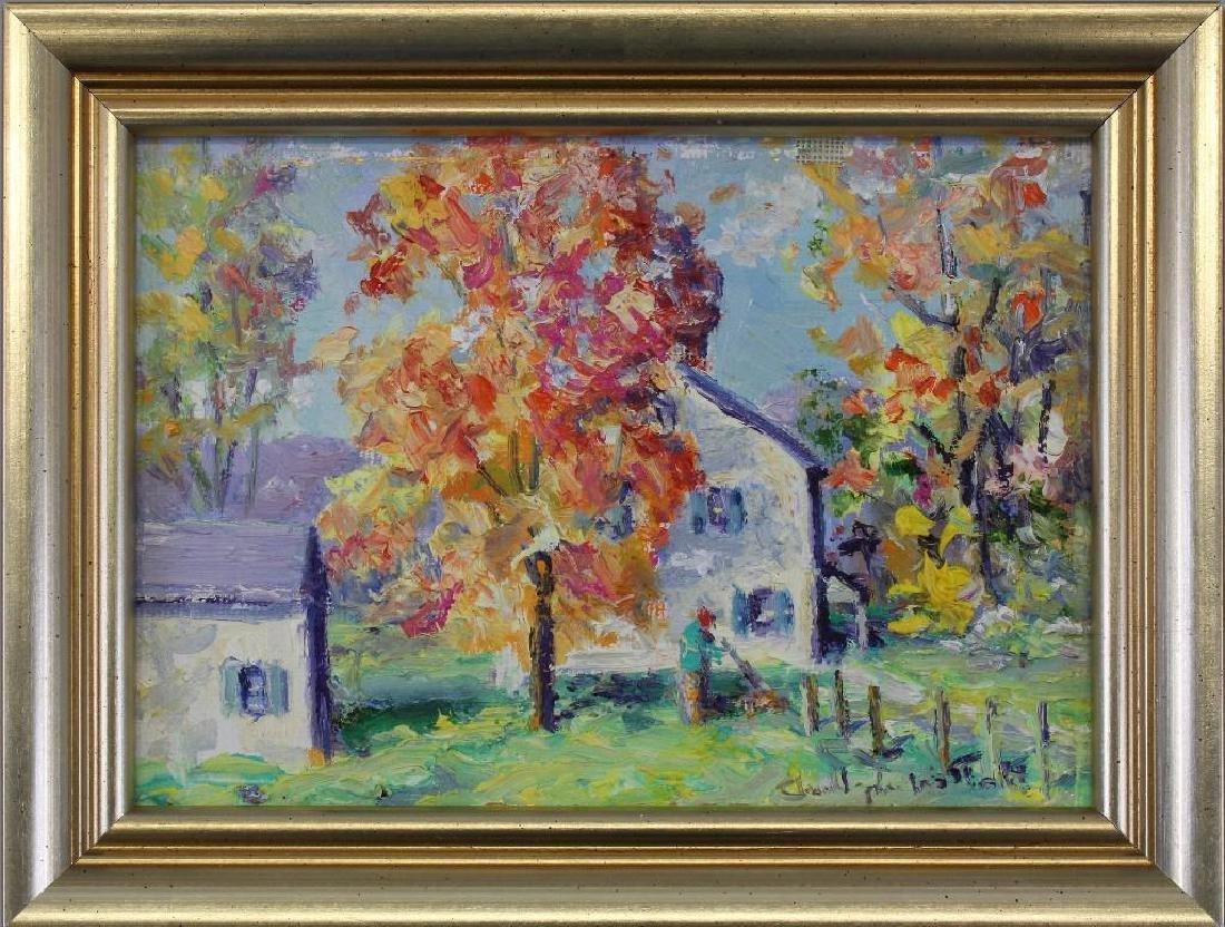 "Christopher Willet (b.1959, Pennsylvania) ""Buckingham"