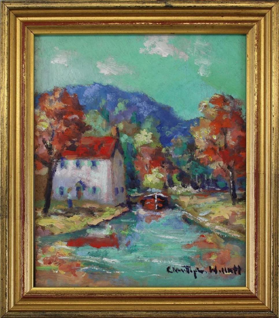 """Christopher Willet (b.1959, Pennsylvania) """"Upper Bucks"""
