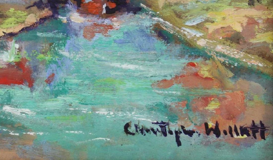 """Christopher Willet (b.1959, Pennsylvania) """"Upper Bucks - 2"""