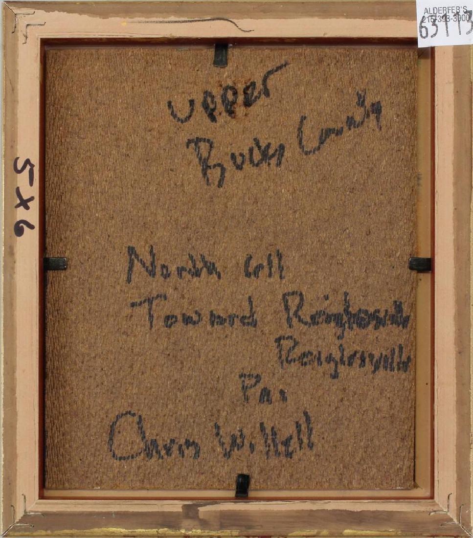 """Christopher Willet (b.1959, Pennsylvania) """"Upper Bucks - 3"""
