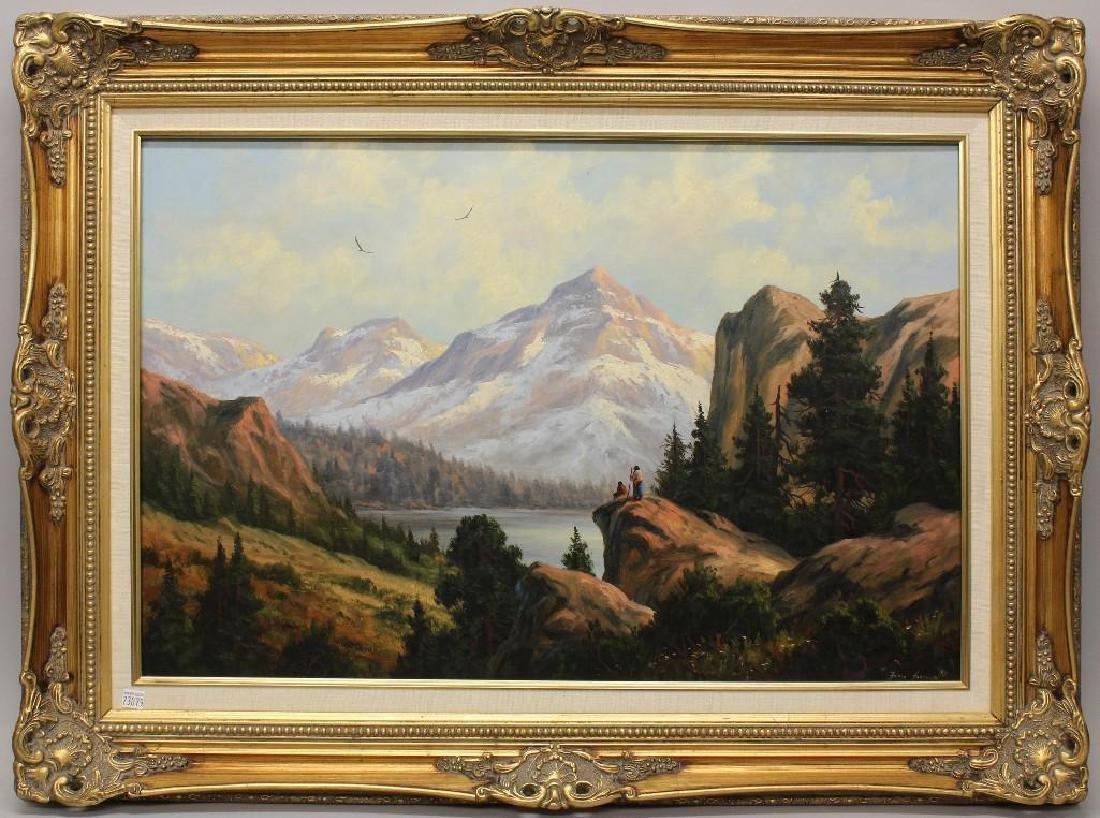 Heinie Hartwig (b. 1937, California) Mountain Top