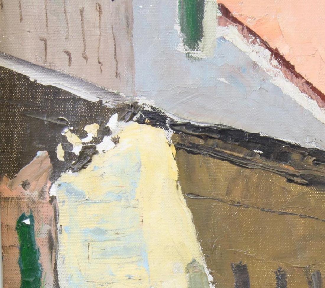 Peter Hayward (1905-1993, New York, Hawaii) Sidewalk - 5