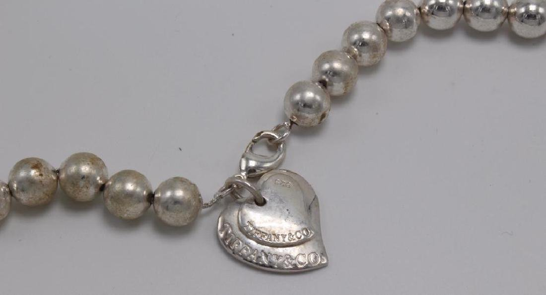 NECKLACE. TIFFANY & CO. STERLING SILVER. BEAD - 2