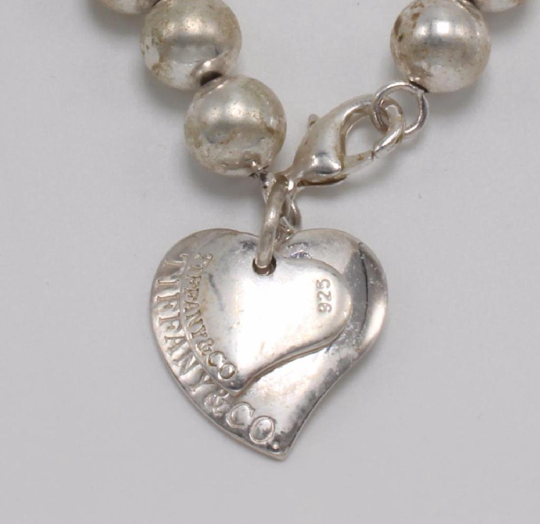 NECKLACE. TIFFANY & CO. STERLING SILVER. BEAD - 3