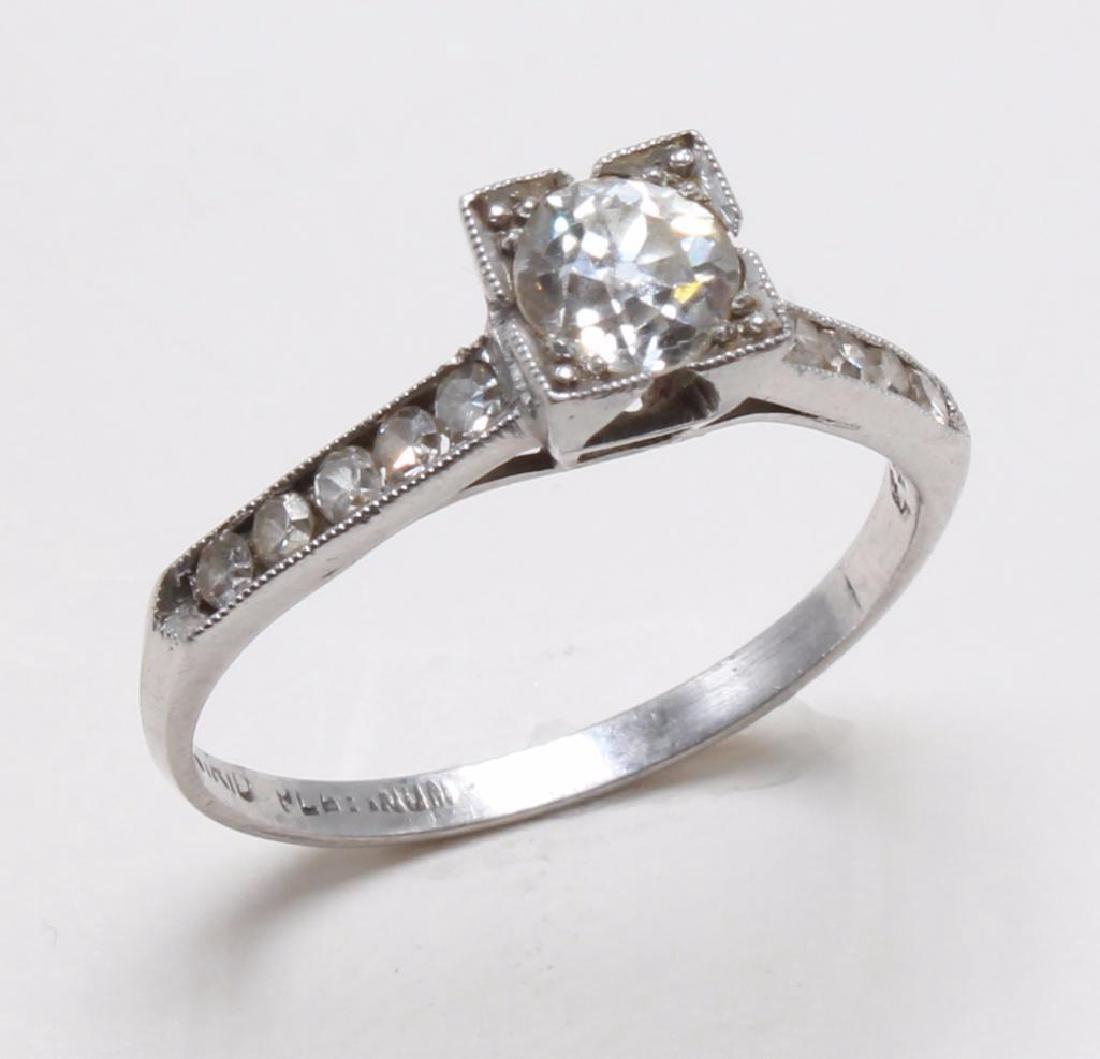RING. DIAMOND. PLATINUM