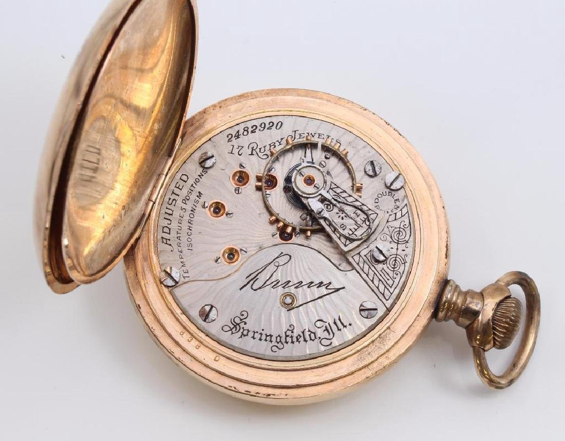 POCKET WATCH. ILLINOIS WATCH CO. - 2