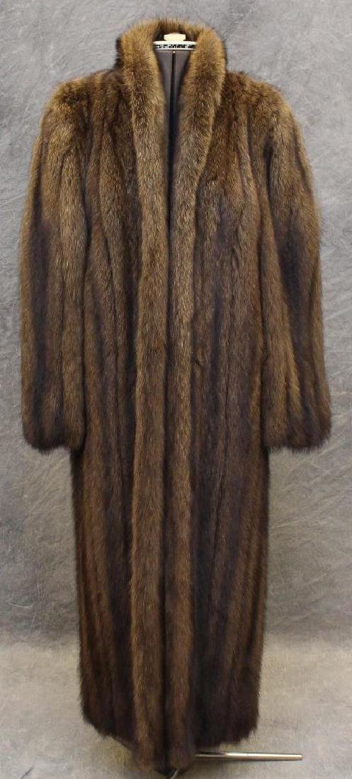 Larry Weinstein Fisher Fur Coat
