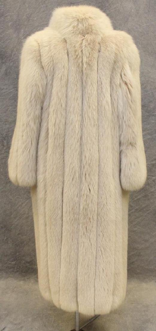 Larry Weinstein Shadow Fox Fur Coat - 4