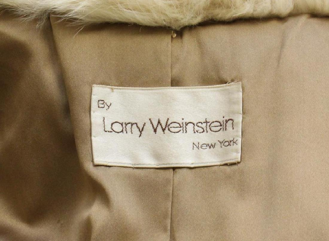 Larry Weinstein Shadow Fox Fur Coat - 5