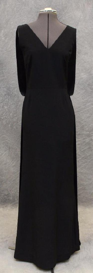Vera Wang Black Column Dress