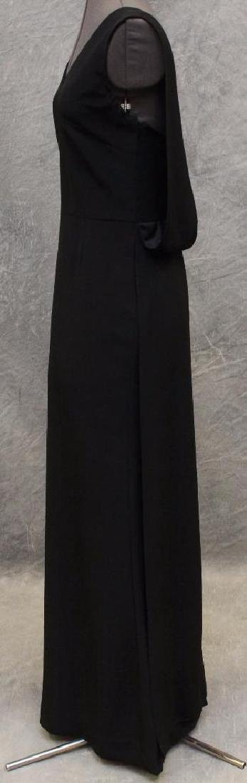 Vera Wang Black Column Dress - 2