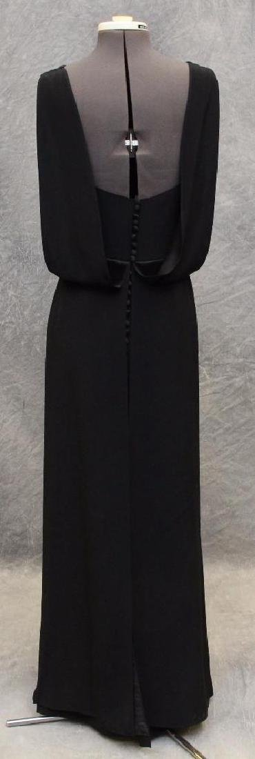 Vera Wang Black Column Dress - 3