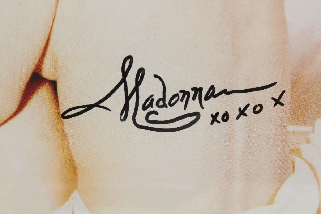 Attributed Madonna Signed Pop Art Photograph - 3