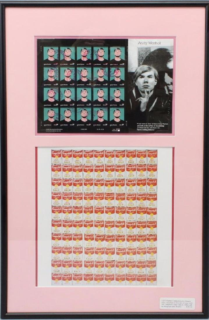 Andy Warhol Framed Grouping