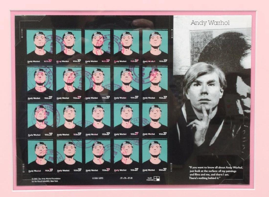 Andy Warhol Framed Grouping - 2
