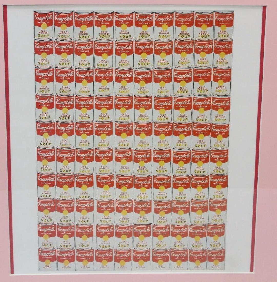 Andy Warhol Framed Grouping - 3