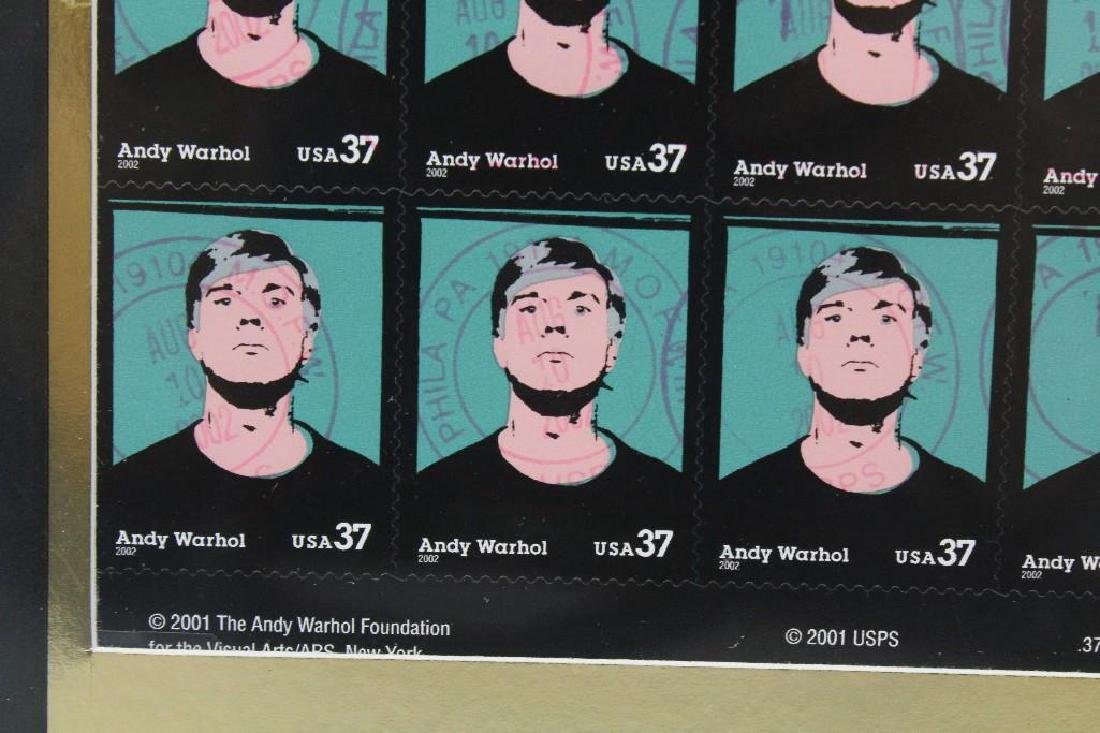Andy Warhol Framed Grouping - 4