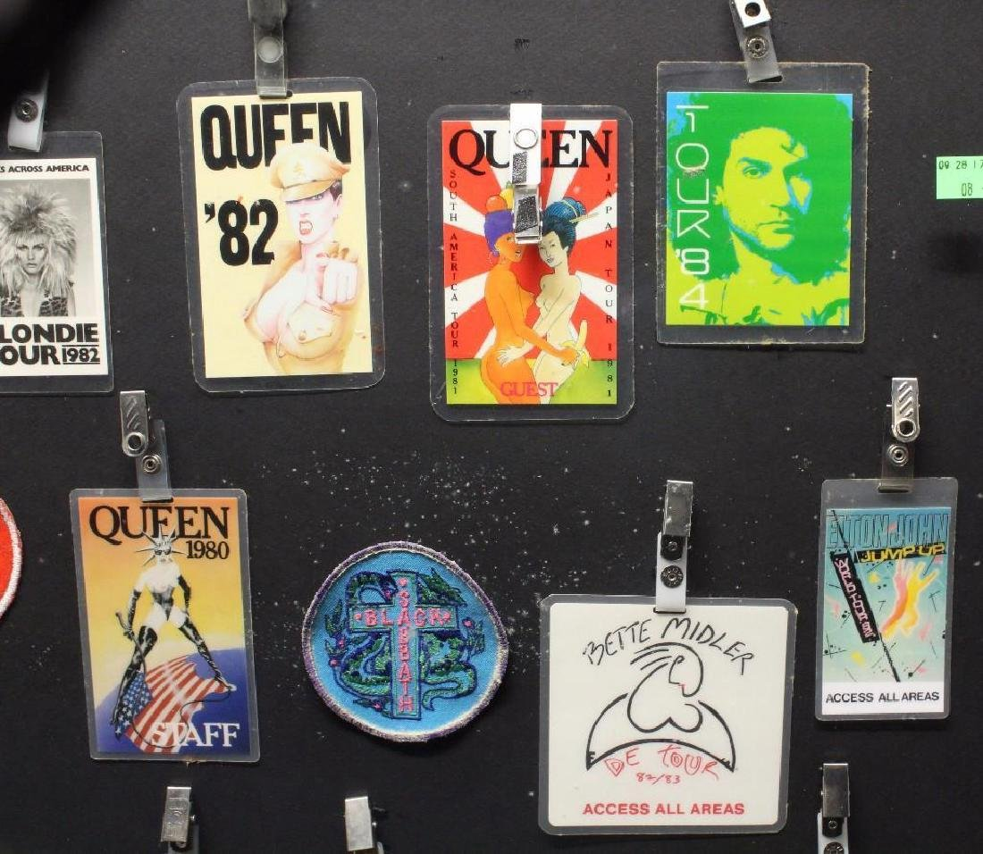 Framed Grouping of Backstage Passes - 3