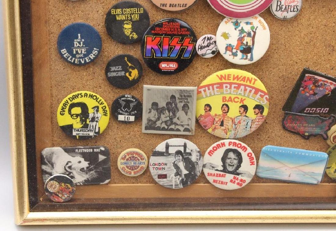 Framed Grouping of Pop Culture Pins - 3