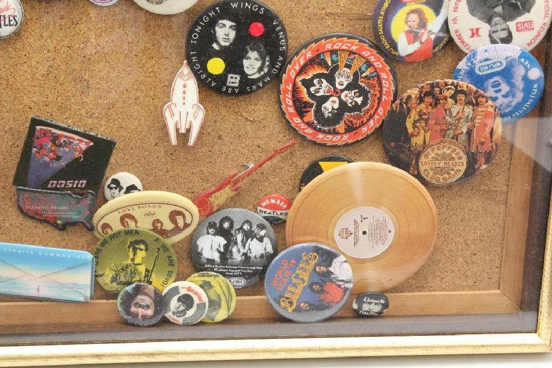 Framed Grouping of Pop Culture Pins - 4