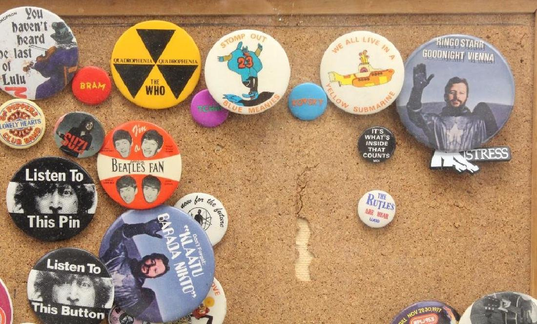 Framed Grouping of Pop Culture Pins - 5