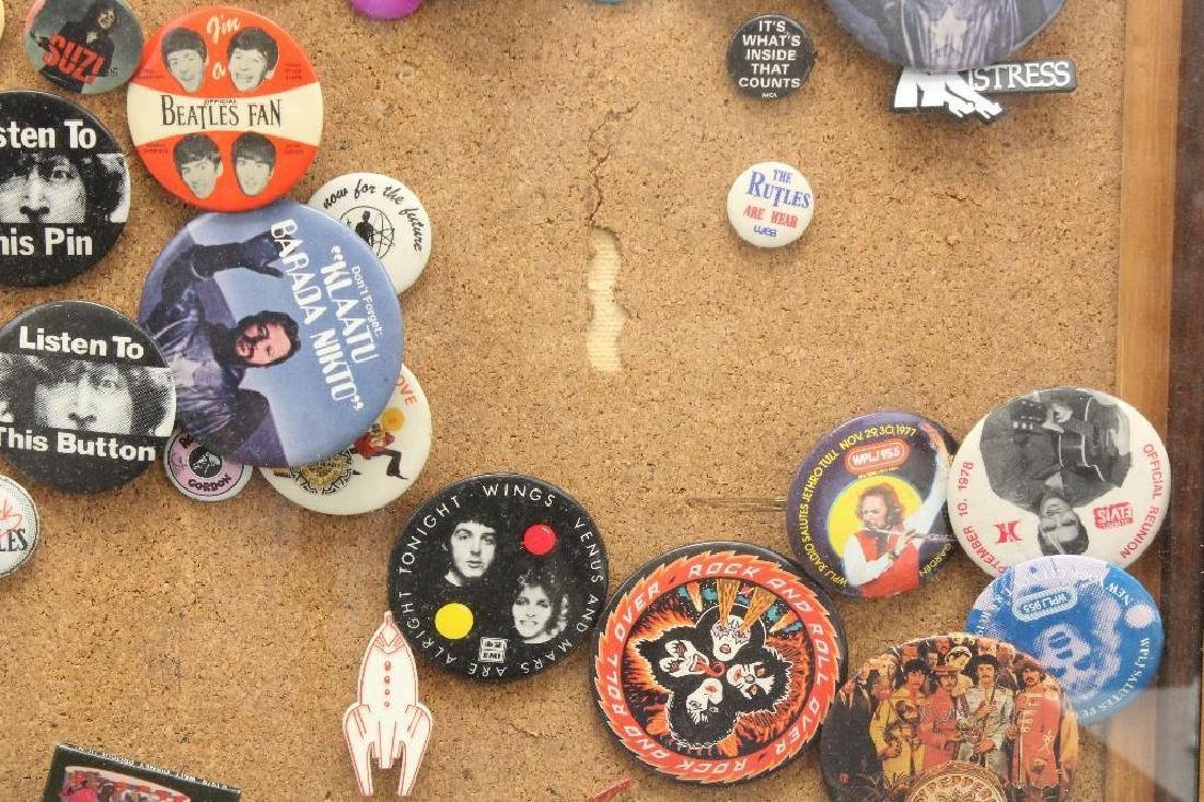 Framed Grouping of Pop Culture Pins - 6