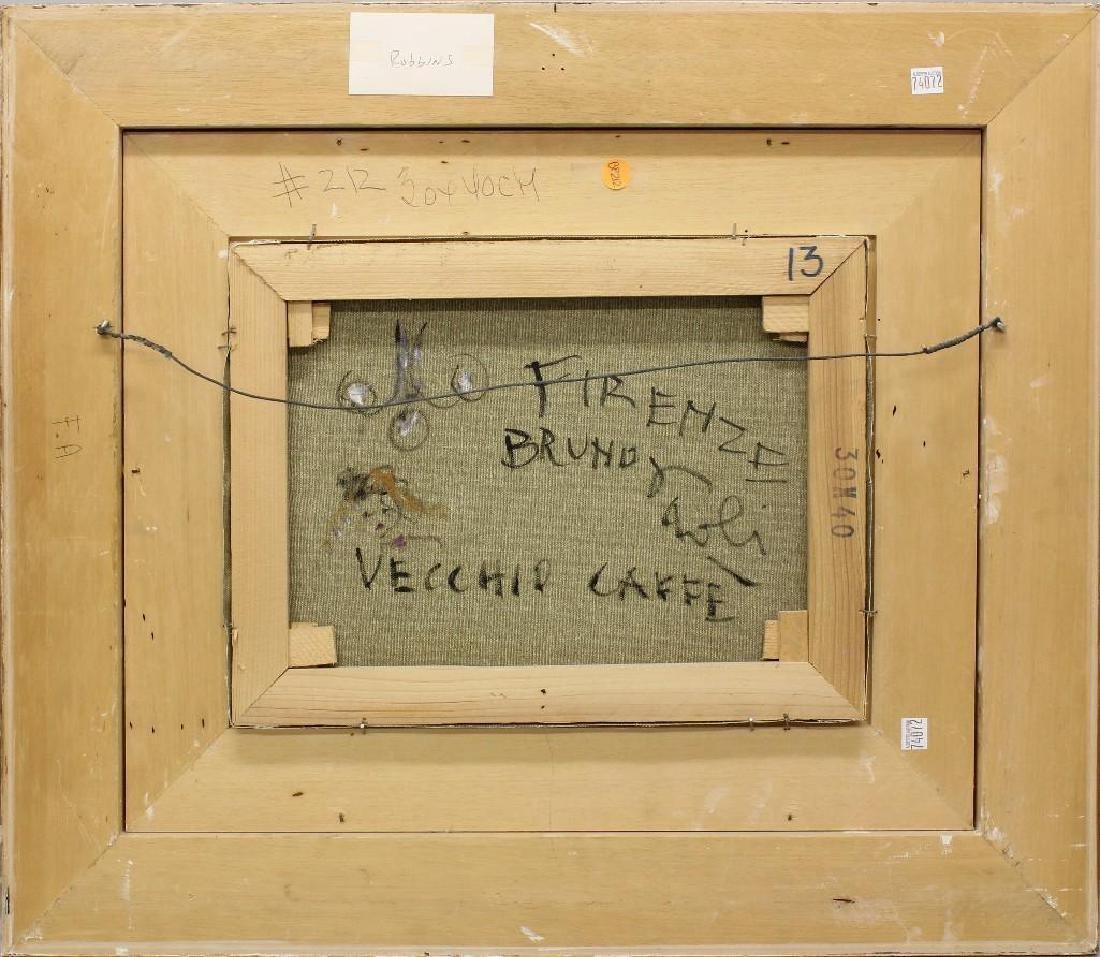"""Bruno Paoli (1915-2005, Italy) """"Vecchio Caffe"""" - 3"""